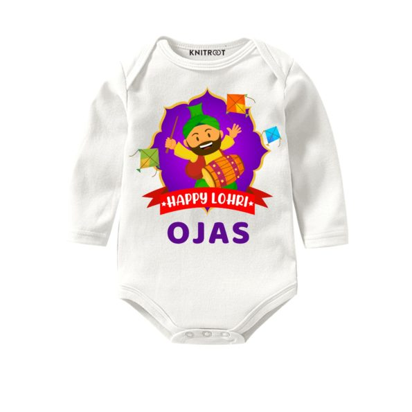 Happy lohri kids onesie