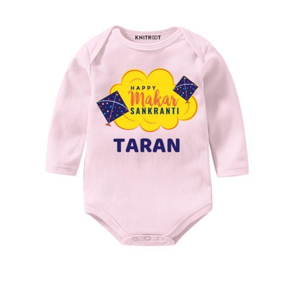 Happy makar sankrant babyoutfit