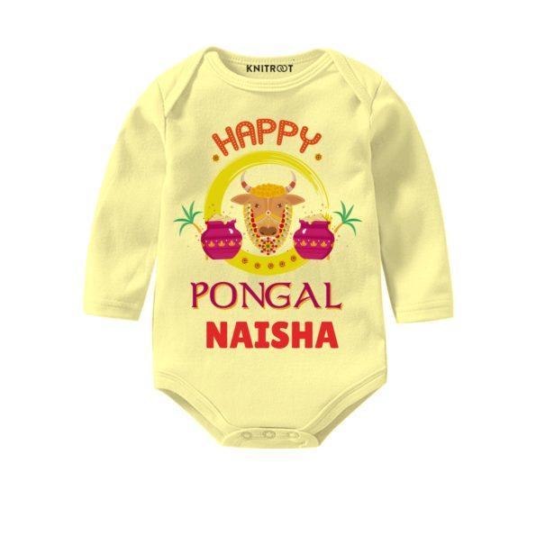 Happy pongal Bay onesie