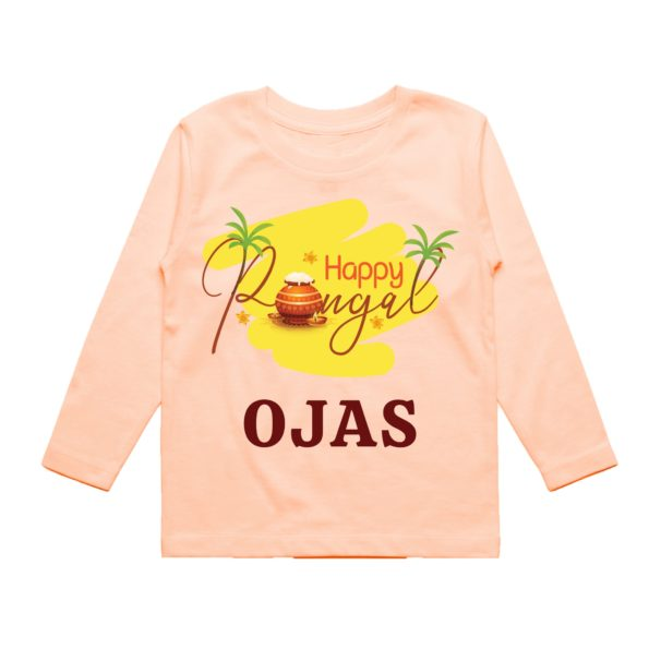 Happy pongal kids outfit