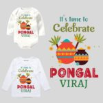 Its time to cebrate pongal kids outfit
