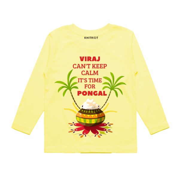 Time for pongal baby wear