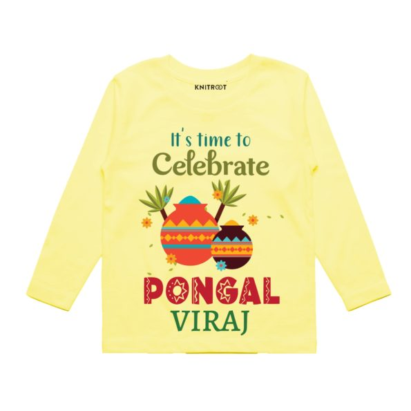 Time to celebrate pongal baby wear
