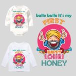 balle balle its my first lohri onesie and tee