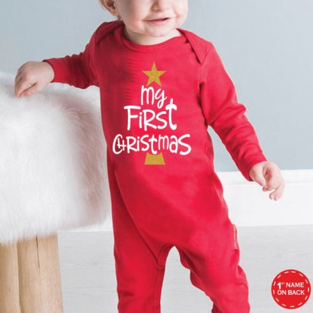 My First Christmas Jumpsuit