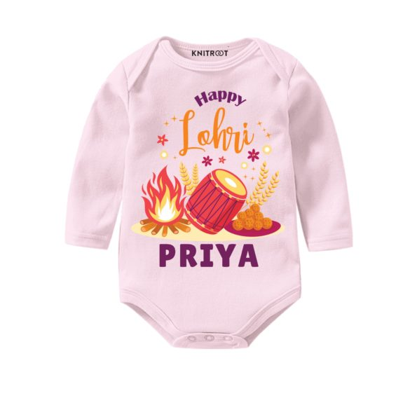 happy lohri baby outfit