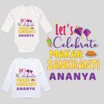 Makar Sankranti Baby Dress
