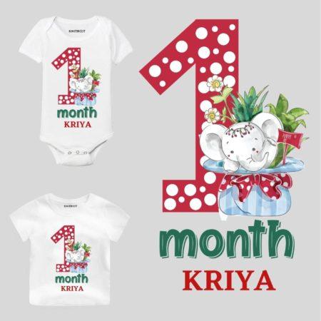 1 month birthday