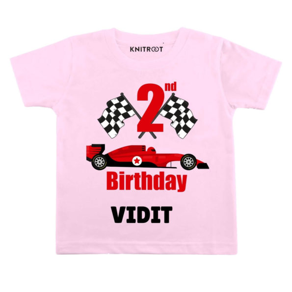 2nd Birthday-Car Toddler clothes