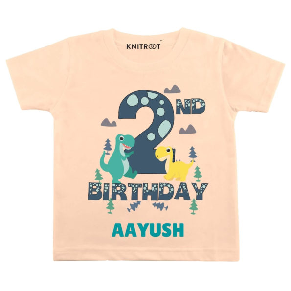 2nd Birthday-dino Toddler outfit