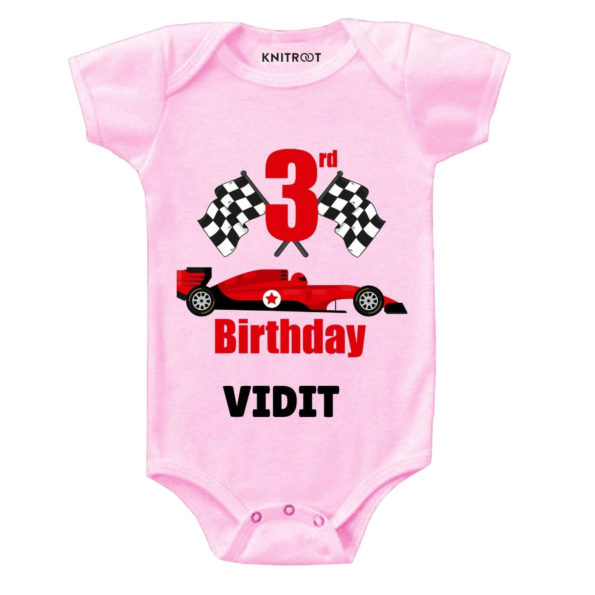 3rd Birthday-Car Personalized Outfit