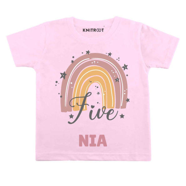 Five Birthday Personalize Toddler wear