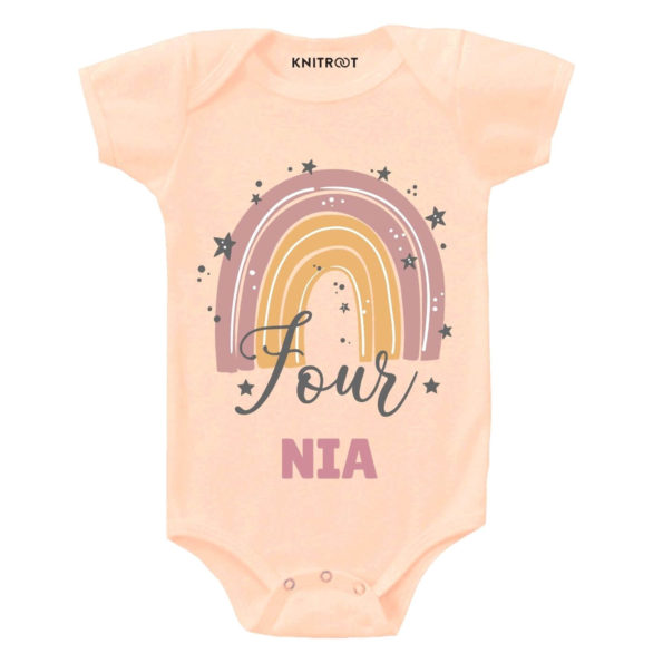 Four Birthday Personalize Toddler wear