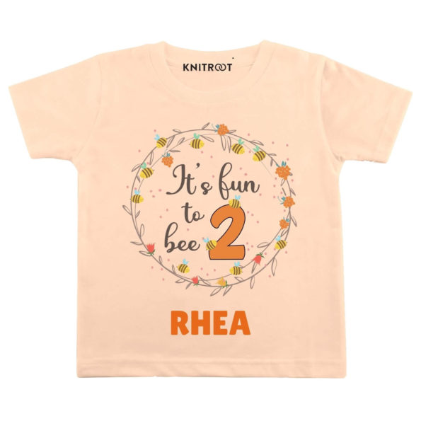 Fun to bee 2 Personalize Toddler wear