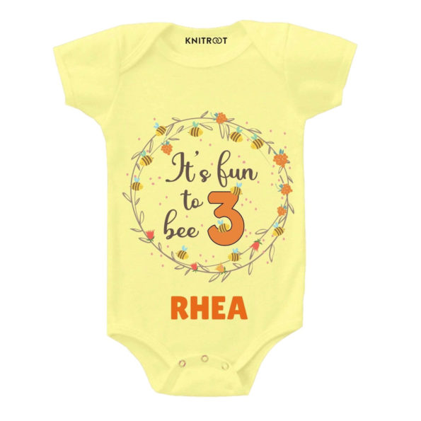 Fun to bee 3 Toddler outfit
