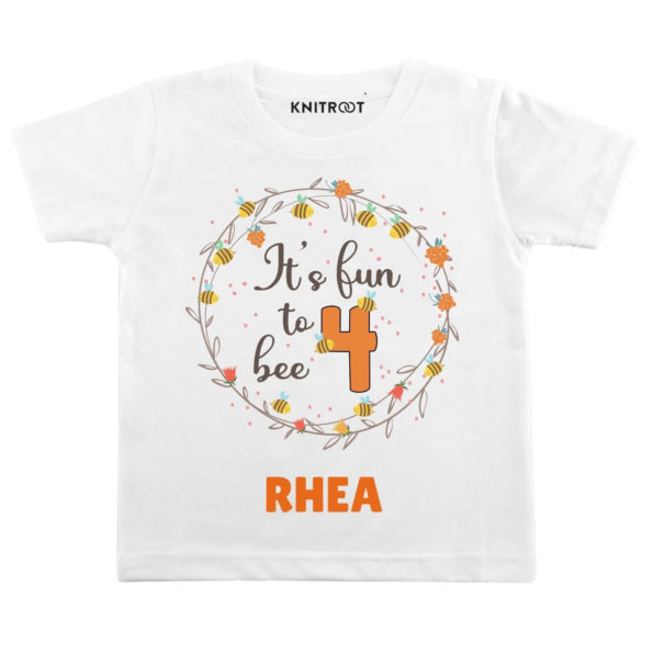 Fun to bee 4 Personalize Toddler wear