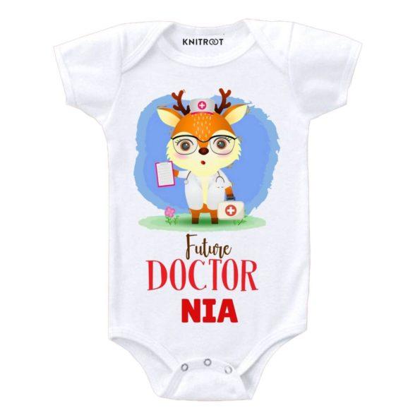 Futer Doctor Baby Onesie