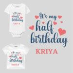 Half Birthday Baby Clothes
