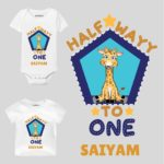 Half wayy personalized wear