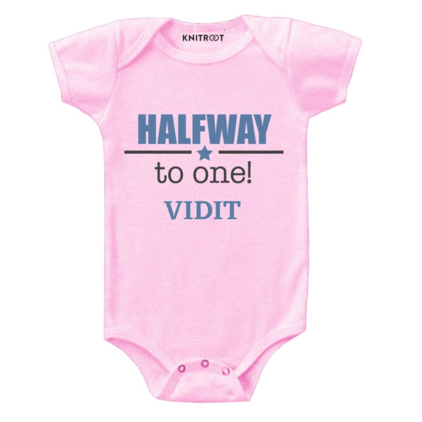 Halfway to one Baby Clothes