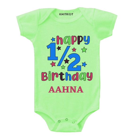 Happy Half Birthday Outfit