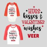 Hugs Kisses and Valentines Wishes