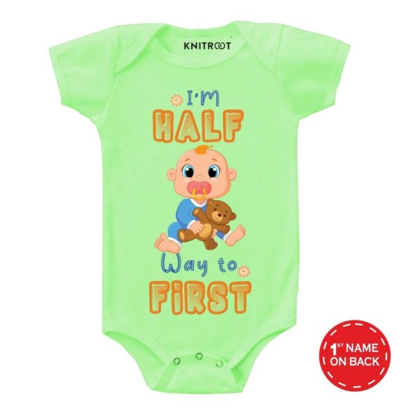 I'm Half way Baby Outfit