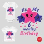 It's Six Months Birthday wear