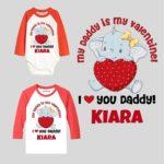 My daddy is my valentines