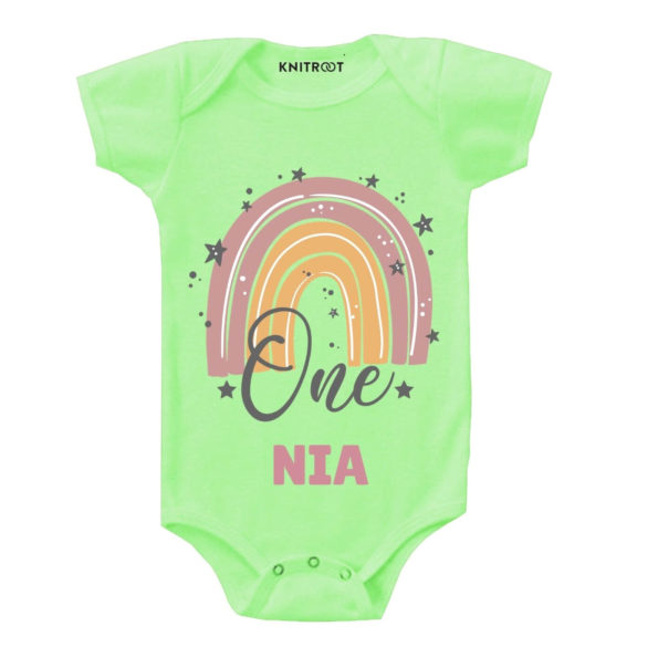 One Birthday Personalize Toddler wear