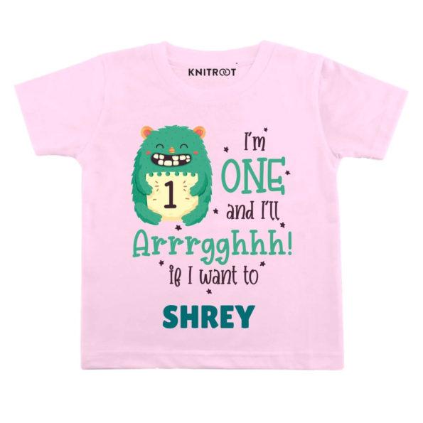 One and i'll Arrghh Birthday wear