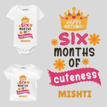 6 month birthday dress