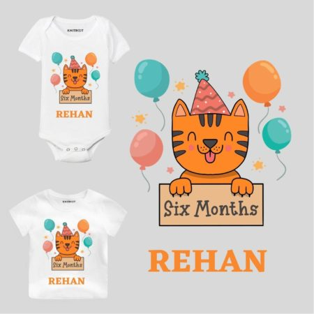 Six Months-cat Baby Clothes
