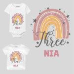 Three Birthday Toddler clothes