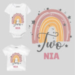 Two Birthday Personalize Toddler wear