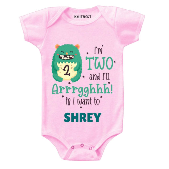 Two and i'll Arrghh Toddler outfit