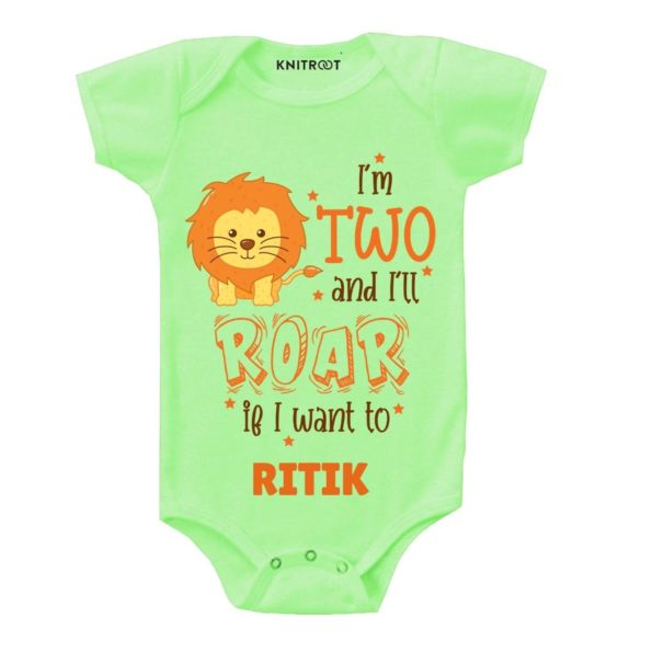 Two and i'll roar Toddler clothes