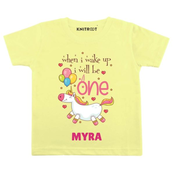Wake up be one Personalize Toddler wear