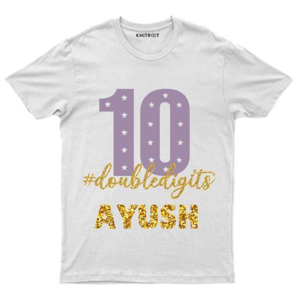 Doubledigit-Golden T-shirt
