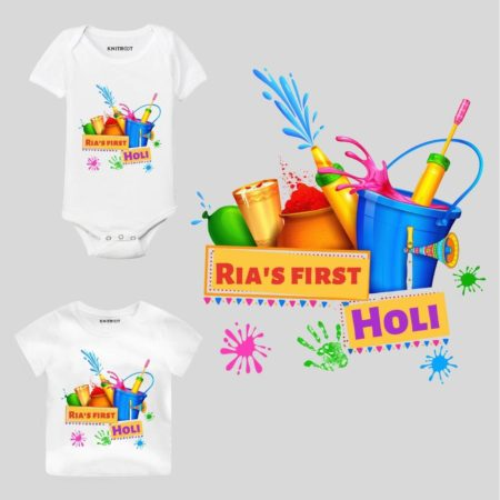 First holi-color bucket Baby Wear
