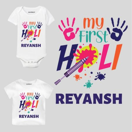 My First holi-color Kids Outfit