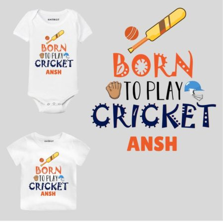 Play Cricket Personalized wear