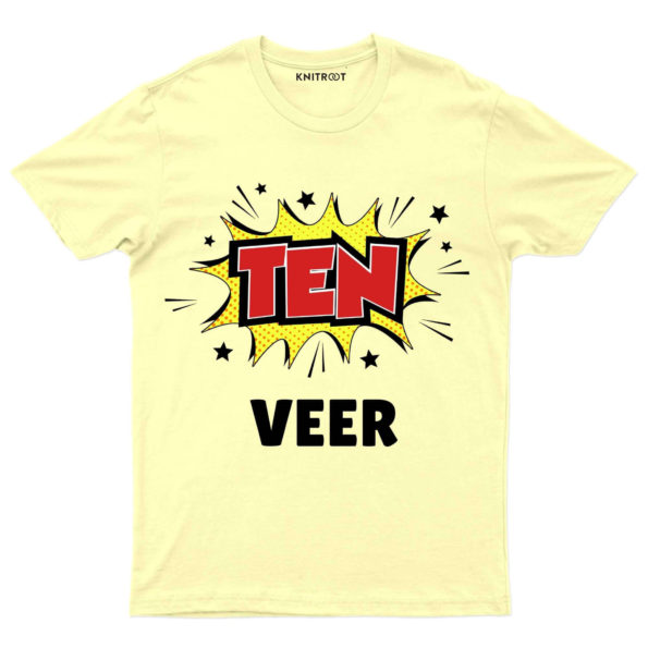 Ten-Red Personalized Tees