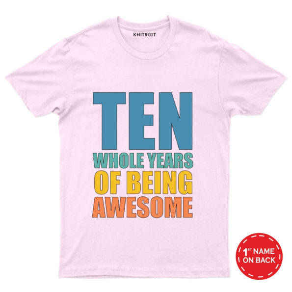 Ten being awesome Tees