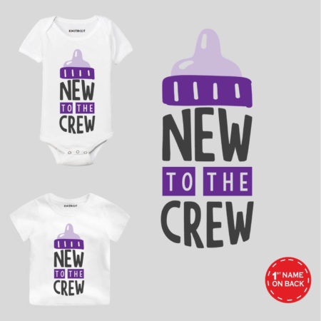 New to crew-violet outfit