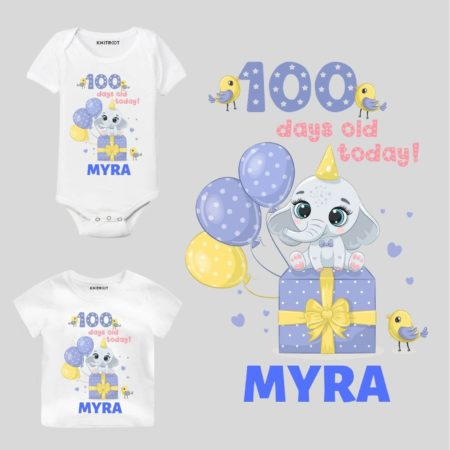 100 days old baby outfit