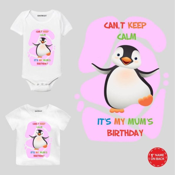 Calm it's mum's birthday outfit