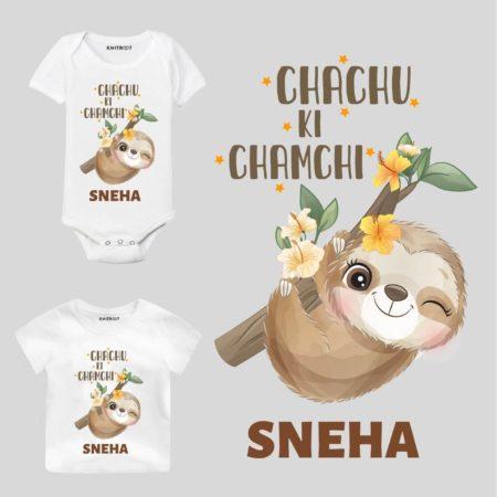 Chachu ki chamchi Kids wear