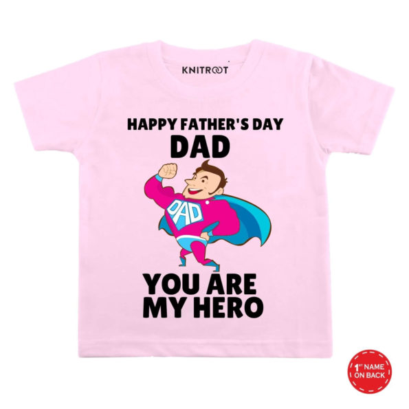 Dad you're my hero baby wear