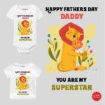 Daddy my superstar Kids Clothes